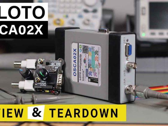 Loto OSCA02X USB Oscilloscope